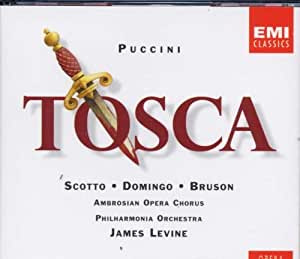 Puccini: Tosca (Gesamtaufnahme(ital.),Aufnahme London 1980)