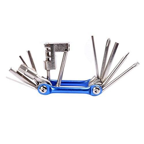 West Biking Kit di manutenzione e riparazione bicicletta in acciaio