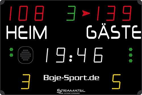 Boje Sport Anzeigetafel 452 MS 3000 Kabel BZW. Funk von Stramatel