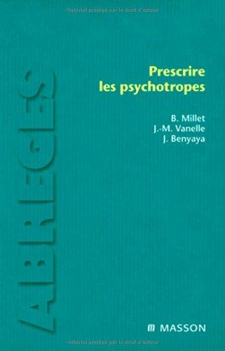 Prescrire les psychotropes: POD