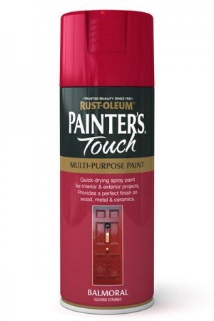 rust-oleum-painters-touch-multi-purpose-aerosol-spray-paint-400ml-red-balmoral-gloss-3-pack