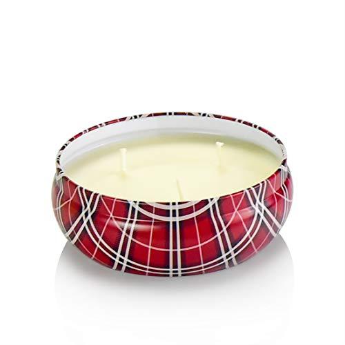 basidy Rose Aromatherapie Kerzen Stressabbau Reines Soja Wachs 3 Docht Kerze 20 Stunden Brennen für Lange Zeit - Reinen Soja Kerze