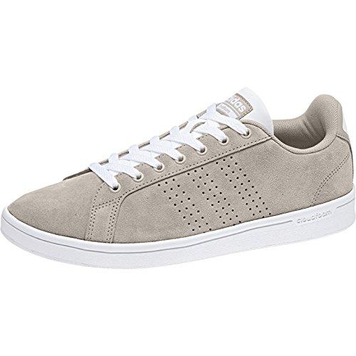 adidas Cloudfoam Advantage Clean, Baskets Homme Marron (Light Brown/ftwr White)