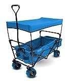 Creative Outdoor Verteiler Himmel zusammenklappbar Utility Wagon, unisex, Canopy, blau, Nicht zutreffend