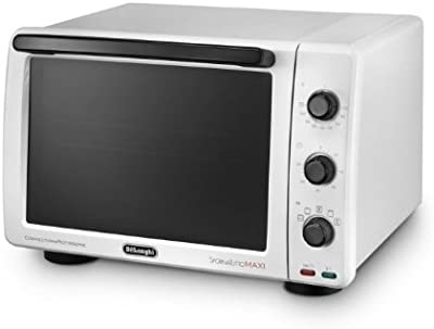 DeLonghi EO 3260 - Horno (32L, 2000W, Eléctrico, Independiente, Color blanco, Giratorio)