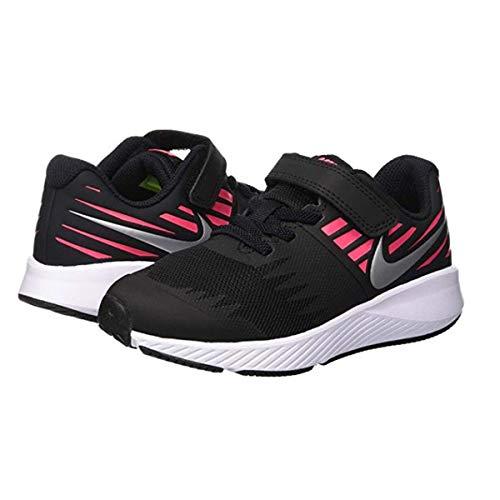 Nike 921442 004 Mädchen Klettverschluss/Slipper Halbschuh, Größe 34.0