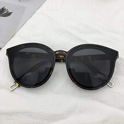 CYCY Sonnenbrille weibliche Flut koreanische Version rundes Gesicht Brille Sonnenbrille männlich orange Paket 1 senden V Tasche Tuch, Dämmerung Paket 2 senden V Box Tasche Tuch