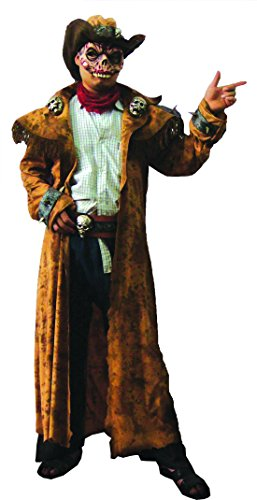 erdbeer-clown - Karnevals-Kostüm Set Zombie Cowboy, One Size, (Make Kostüm Zombie Cowboy Up)