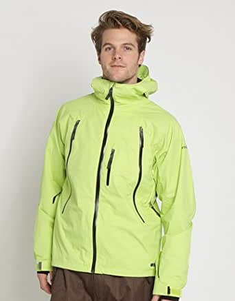 Animal Delta King Snowboard Jacket Small Green Glow