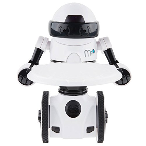 41SlyHZ tCL - WowWee - Robot MiP, color blanco (0821)