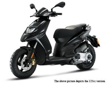 Piaggio TPH 50 neues Modell, Farben:Schwarz Lucido 094