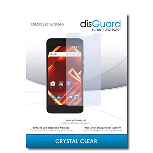 disGuard® Bildschirmschutzfolie [Crystal Clear] kompatibel mit Archos Access 55 [3 Stück] Kristallklar, Transparent, Unsichtbar, Extrem Kratzfest, Anti-Fingerabdruck - Panzerglas Folie, Schutzfolie