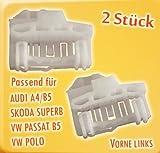 myshopx (47) Fensterheber Reparatursatz 2Stück vorne links für Audi A4/B5,...
