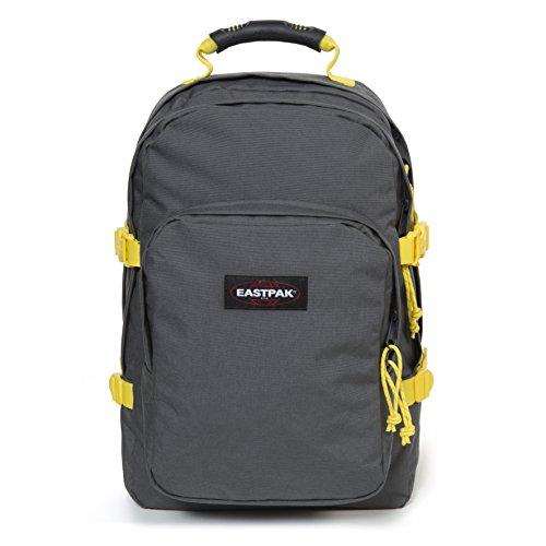 Eastpak Provider Sac à dos, 44 cm, 33 L, Gris (Grey-Yellow)