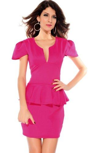 Valin Deman Rosa SY2774-3 cocktail kleid Rosa