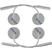 4 x kleine Elektroden Pads, 30mm Durchmesser, rund. Für Anwendungen im Gesicht oder Elektro-Akupunktur. Für TENS... preisvergleich bei billige-tabletten.eu