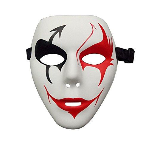 Hacoly Halloween Maske Guy Fawkes Mask Guy Anonymous Replika Demo Anti -Karneval Maske Cosplay Kostüm Anti Acta Demo für Erwachsene Weihnachten Kleid Party Dekoration (Gute Einfache Guy Kostüm)