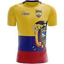 Airo Sportswear 2018-2019 Ecuador Home Concept Football Soccer T-Shirt Camiseta
