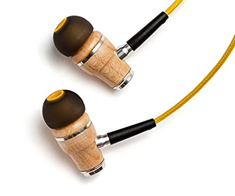 Symphonized NRG Premium Genuine Wood In-ear Noise-isolating Headphones with Mic