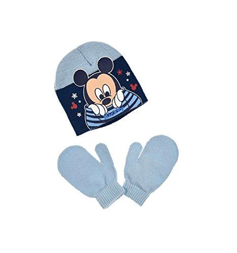 Bonnet et moufles bébé Enfant garçon Disney Mickey 3 Coloris de 9mois à  3ans - 5577e409993