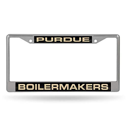 Rico NCAA Purdue Boilermakers Laser Cut Inlaid Standard Chrome Kennzeichenrahmen