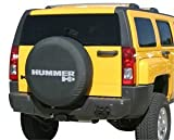 2005-2010 Hummer H3 Soft Tire Cover - Non-reflective - Genuine GM Licensed by Boomerang