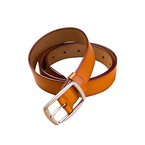 ITISME GürtelFashion Faruen Vintage Accessories Casual Thin Leisure Leather Belt Vintage Le Creuset