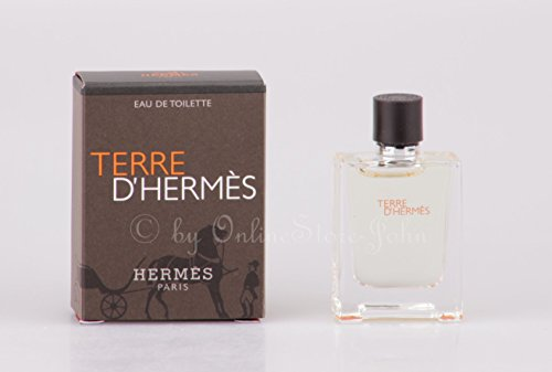 Hermes - Terre d'Hermes - 5ml EDT Eau de Toilette Mini Splash (Hermes Mini Edt)