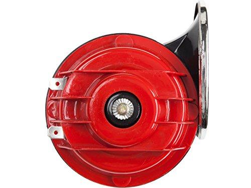 YZ627 Auto Signalhorn 115 dB, Set 2 Stück, Dual Ton, Tiefton, Hochton, Sirene, Hupe, Warnton