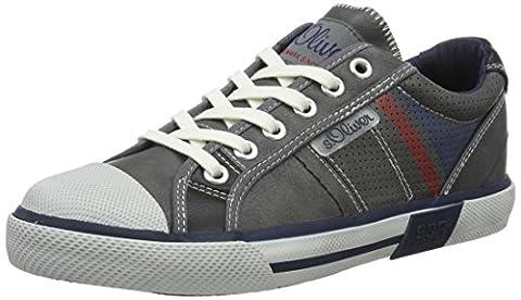 s.Oliver Jungen 53103 Low-Top, Grau (Grey 200), 39 EU