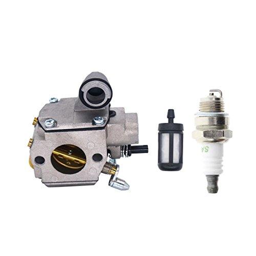 Homyl Vergaser für Stihl MS361 MS361C Kettensäge Motorsäge Trimmer, einfach zu instalieren (Stihl Ms361 Motorsäge)