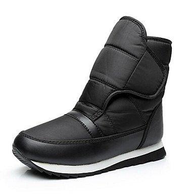 Stivali da donna Comfort Tessuto Primavera Casual Comfort Blue Black Flat Black