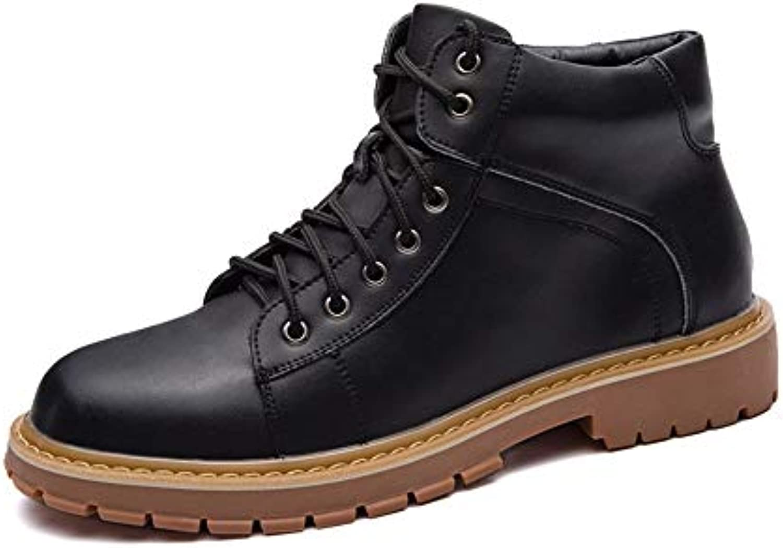 Xujw-scarpe, Stivali da Uomo 2018, Stivali da Lavoro alla alla alla Caviglia da Uomo, Stivali Alti Stile Vintage con Punta...   Tecnologia moderna    Uomo/Donne Scarpa  ba0beb