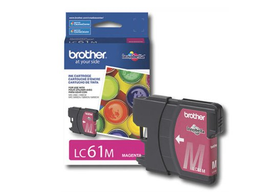 Brother International Corporation LC61M Tintenpatrone Magenta - Brother Tintenpatronen Lc61