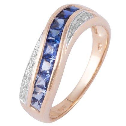 arco-iris-de-zafiro-de-ceiln-y-diamante-9ct-oro-amarillo-anillo-de-boda