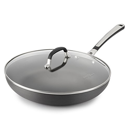 Simply Calphalon 12-Inch Nonstick Covered Omelette Pan by Calphalon Cookware Covered Omelette Pan
