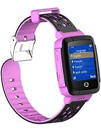 Smartwatch Niño, Tencent SIM Reloj Inteligente Niños con GPS Tracker Anti-lost Smartwatch Para Niños Relojes de…