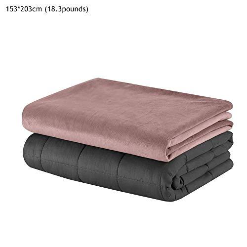 Etanby Therapiebettdecke Gewichtsdecke+ Bettbezug, TherapieDecke für Erwachsene und Kinder Für besseren Schlaf, Warme Schwerkraft-Decke Thermodecke, 2.8KG, 8.3KG.