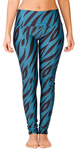Stretch-illusion (Limber Stretch High Performance Yogahose Yoga Leggings 'Illusion' - Figurumschmeichelnd und ideal fuer jede Frau)