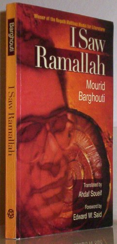 Book cover for I Saw Ramallah