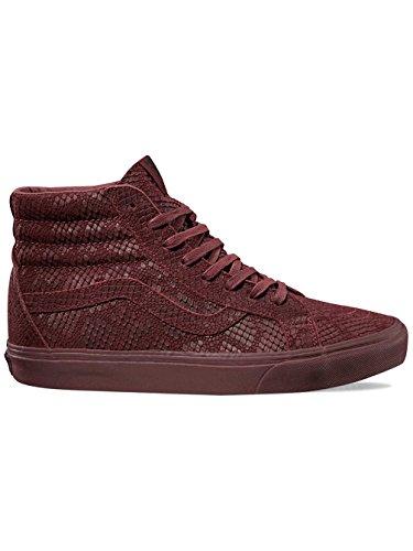 Vans SK8Hi riso Sue DX Reptile Sneaker da donna burdeos