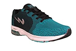 Campus Mens Black and blue Running Shoes (8)