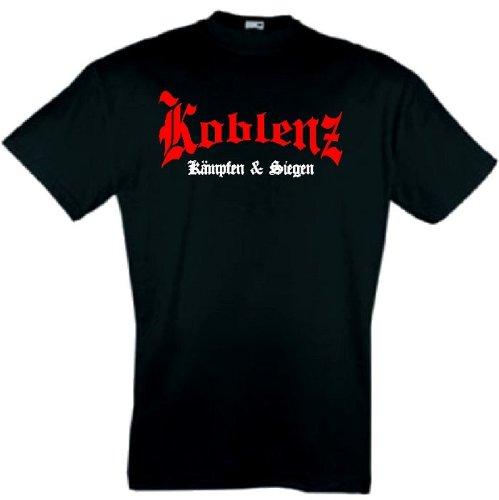 world-of-shirt Herren T-Shirt Koblenz kämpfen und siegen
