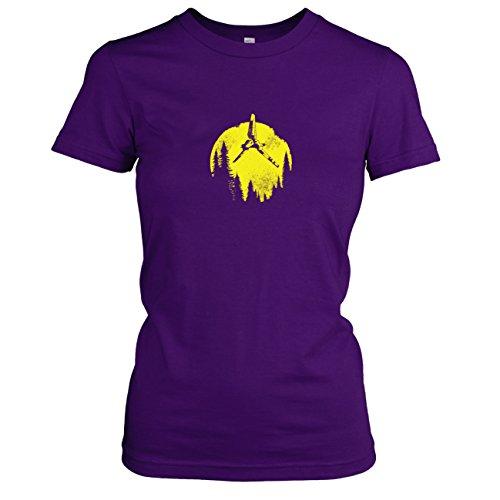 TEXLAB - SW: Endor Flight - Damen T-Shirt, Größe XL, ()