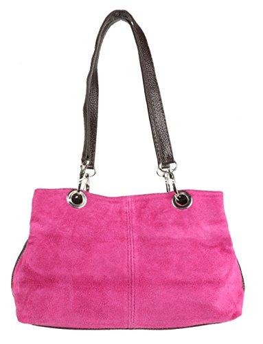 Girly Handbags, Damen Schultertasche Rot rot Girly HandBags