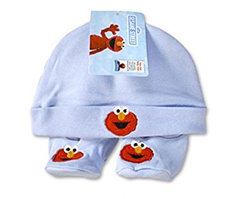 Bleu pour bébé Elmo Rue Sésame 0-6 mois (Elmo-mädchen-kleidung)