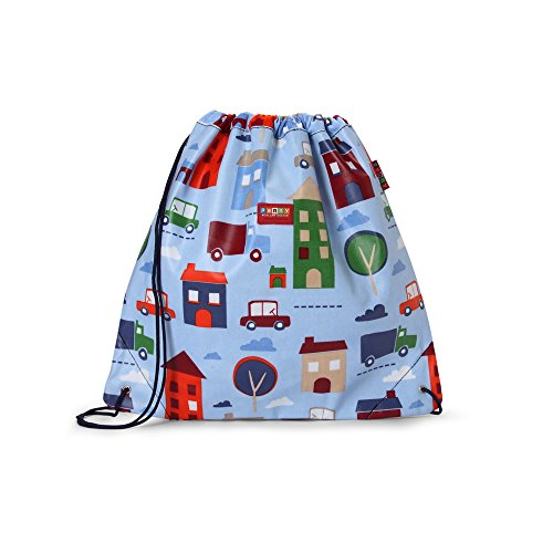 Penny Scallan Drawstring Bag Big City - Turnbeutel Big City (Canvas-baumwolle-schuhbeutel)