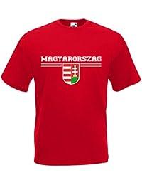 Ungarn Magyarország T-Shirt Fanshirt