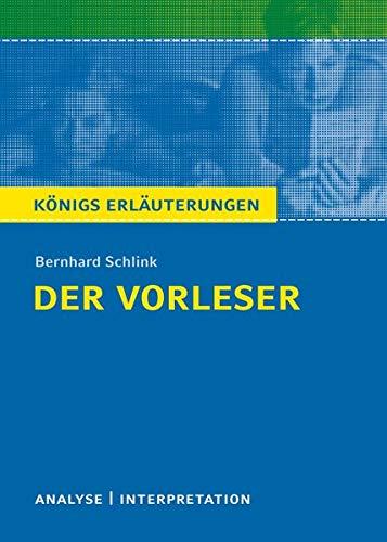 Konigs/Schlink/Der Vorleser