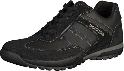 Dockers by Gerli Herren 36ht004-204100 Sneaker Schwarz (Schwarz)